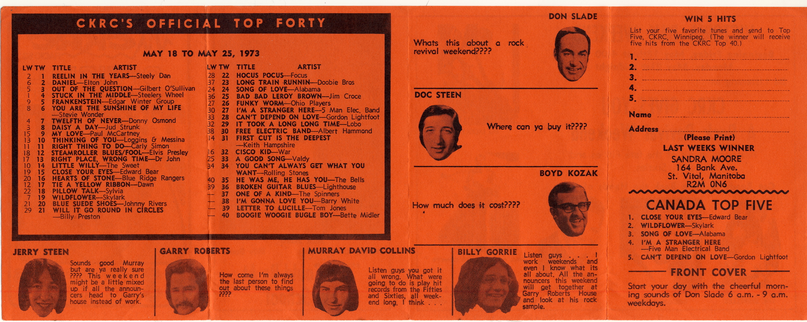 Ckrc Top 40 1961 1973 1967 Rambler Rebel Wiring Diagram