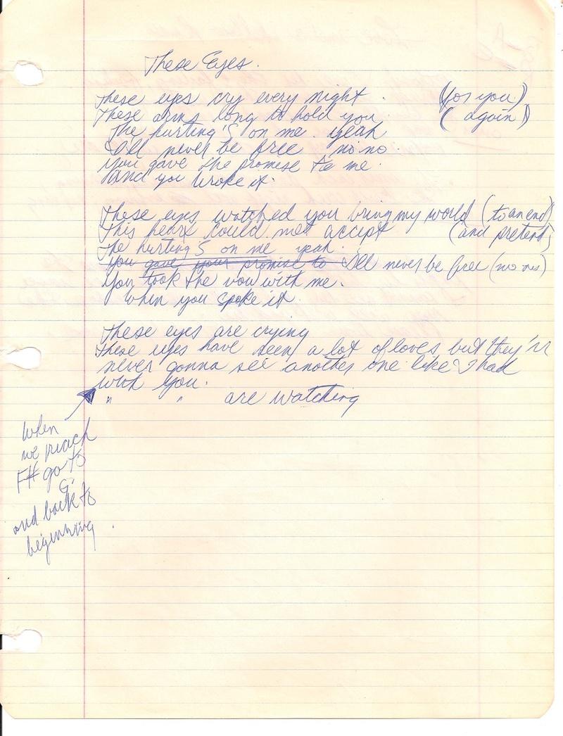 Lyrics to albert flasher